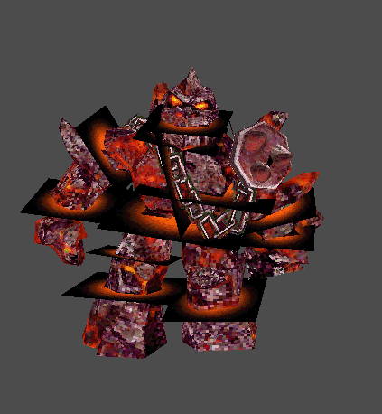 Crimson Golem