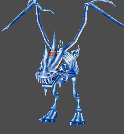 Evil Icy Dragon