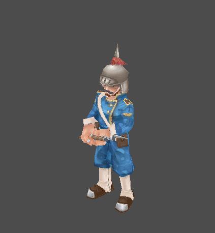 GW - Blue Soldier