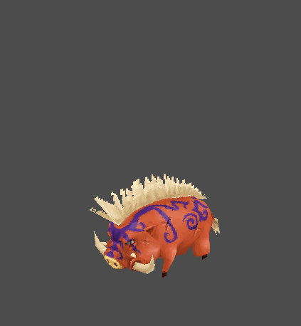 Tribal Pet Boar