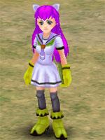 Icicle Navy Girl