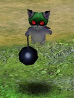 Cursed Black Bobcat