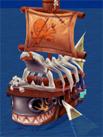 Jack the Pirate's Support Ship
