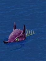 Tanned Skeleton Fish