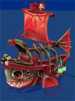 Beardy Pirate Support Ship