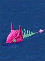 Evil Skeleton Fish