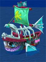 Sakura 13 Pirate Command Ship
