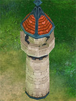 Basic Red Tower