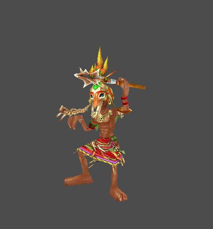 Evil Tribal Warrior