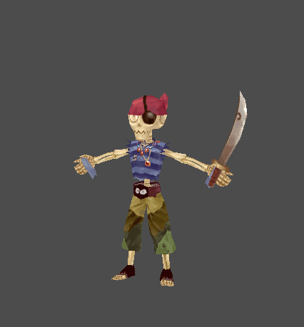 Skeletar Pirate - Lala