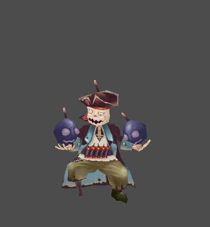 Skeletar Pirate - Tutu