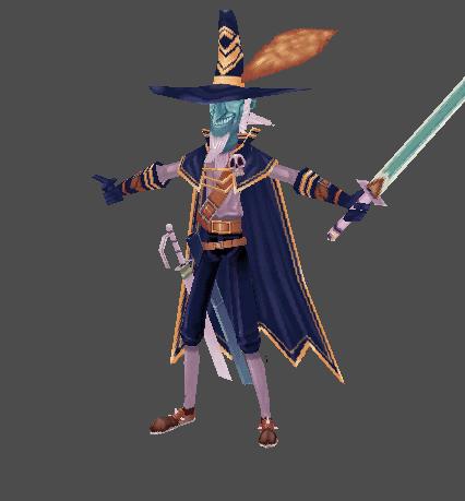 Strange Pirate Chief