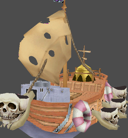 Skeletar Pirate Ship