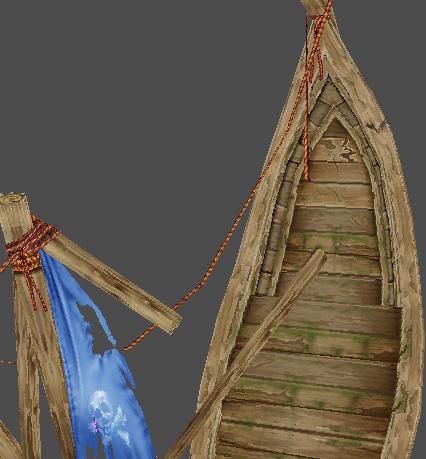 Sharp Skeletar Ship