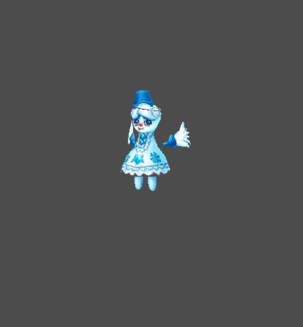 Sacred Snow Doll