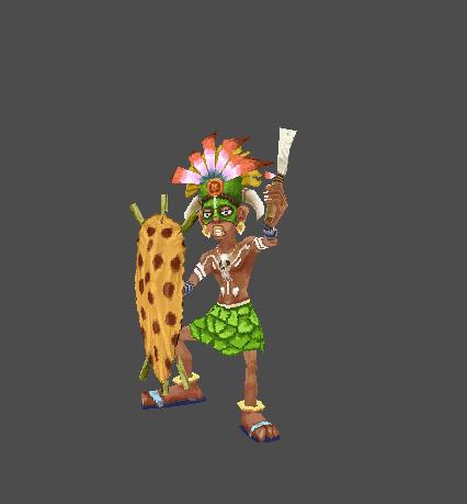 Berserk Tribesman