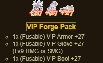 VIP Forged Pack